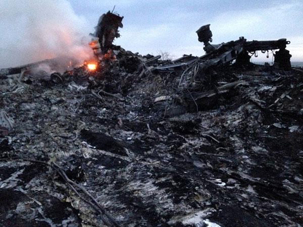 Malaysian plane crash