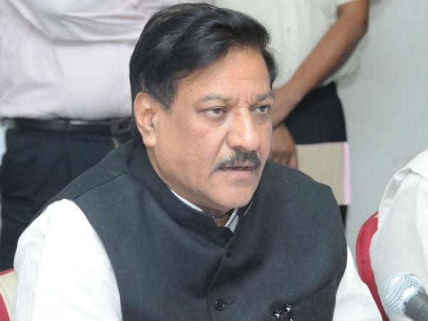 Prithviraj Chavan lacks public faith as state's Chief Minister.