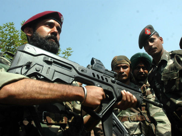 Security personnel in India