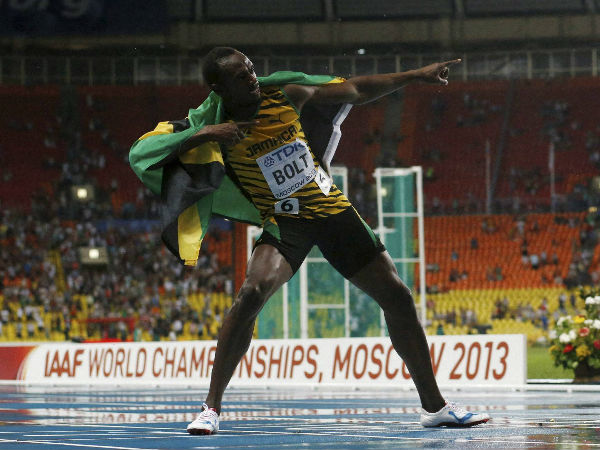 Will we see Usain Bolt's trademark celebrations in Glasgow?