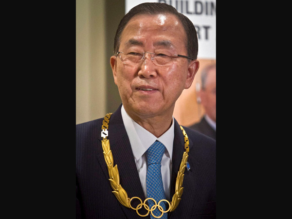 Moon: Fighting will end in Gaza