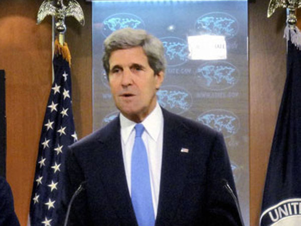 Kerry, Abbas discuss Gaza ceasefire