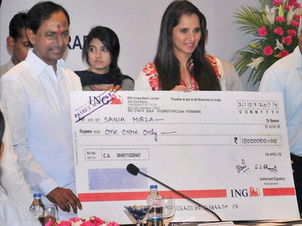 BJP opposes Sania as Telangana ambassador