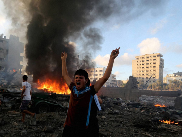 Fight continues in Gaza