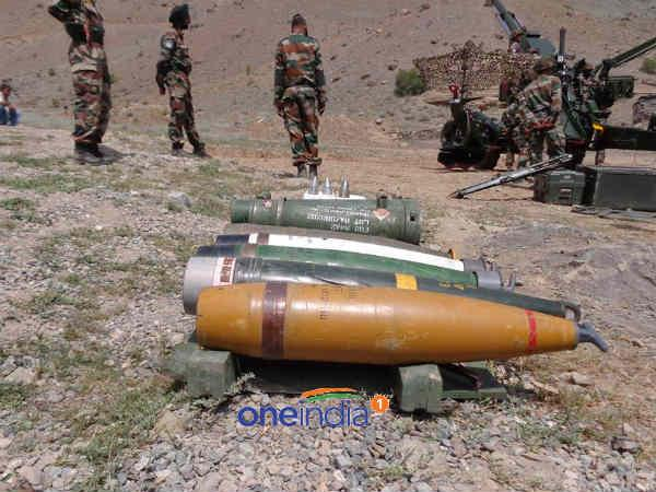 Bofors can even kill enemy hiding underground