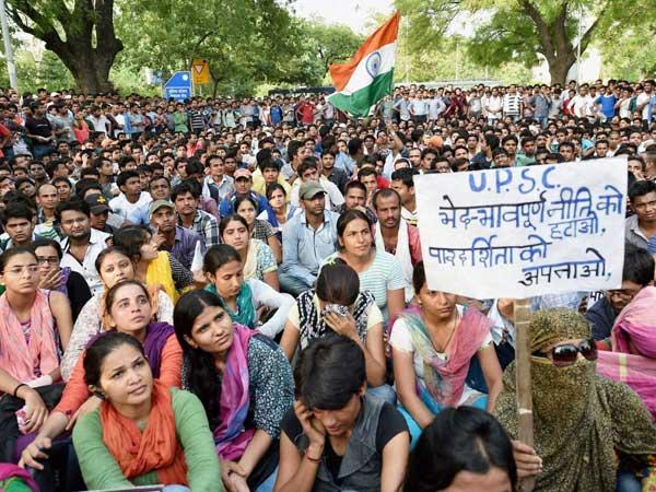 UPSC row: Delhi Metro shuts 2 stations