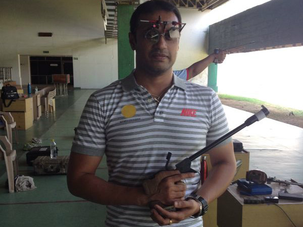 File photo: Prakash Nanjappa (Photo from Olympic Gold Quest, which supports the shooter)