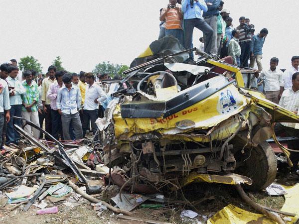 Telangana school bus