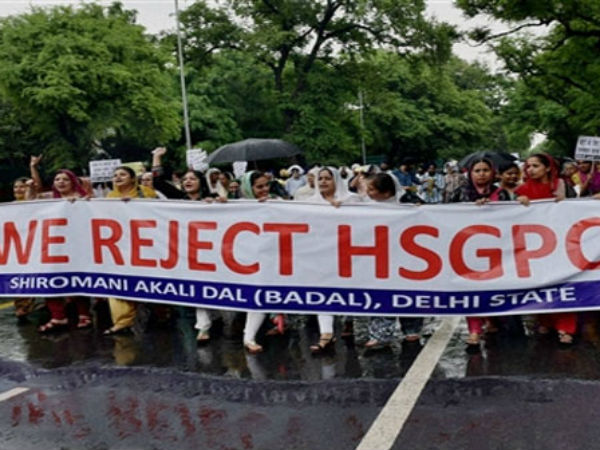 SAD has rejected the HSGPC Bill passed by Haryana Assembly.