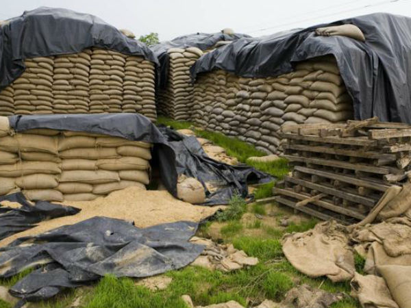 Stockpile of foodgrain has doubled still food prices are soaring.