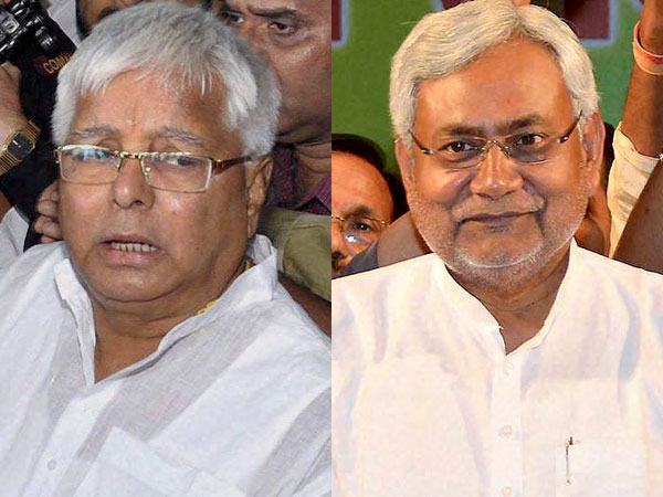Rivals Lalu, Nitish to share stage