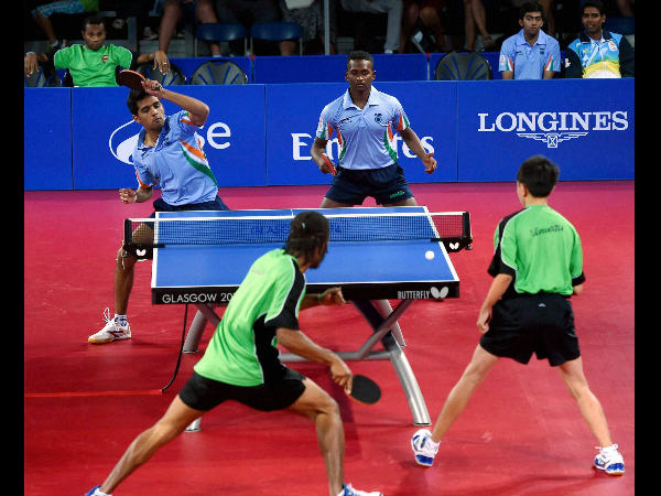 File photo: Indians in action at CWG 2014