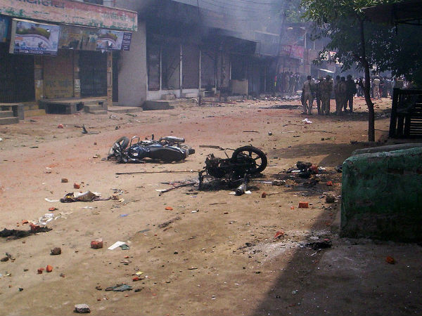 Three people were killed and 19 others in Saharanpur clashes