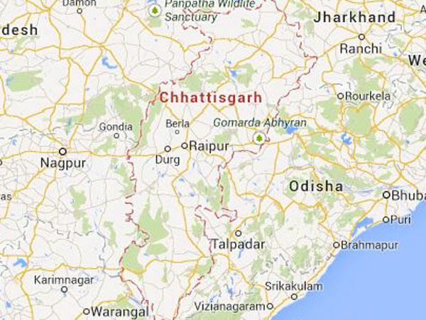 Three naxals held in Chhattisgarh