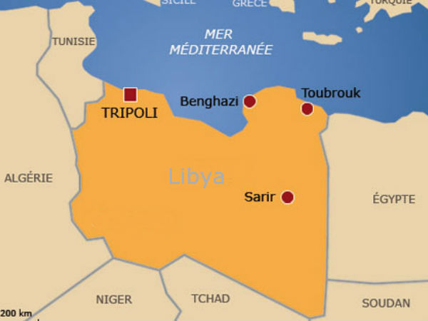 Armed clashes set Libya's Tripoli ablaze