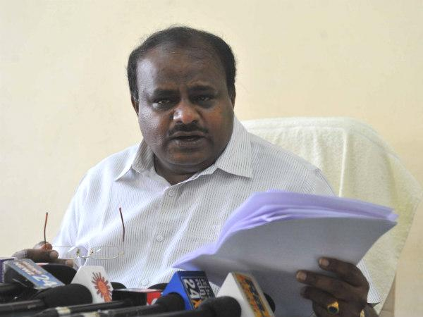 File photo of HD Kumaraswamy