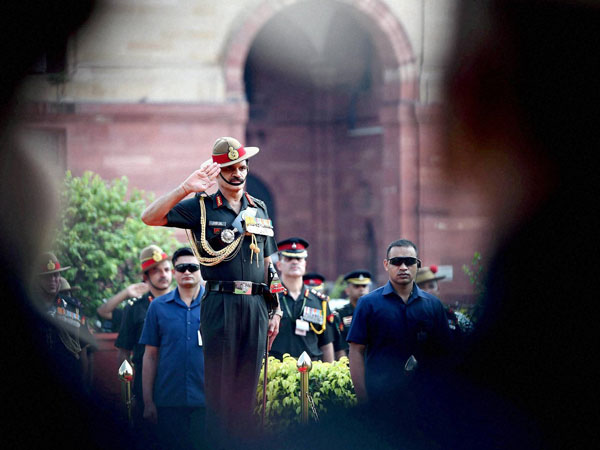 New Army Chief General Dalbir Singh Suhag takes salute