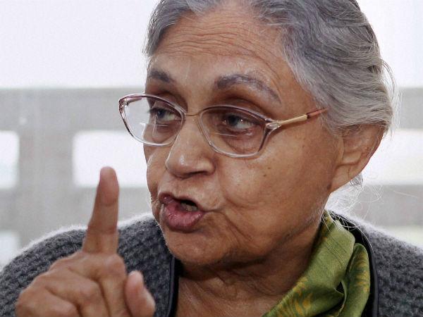 Sheila Dikshit (PTI photo)