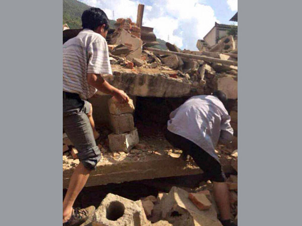 Earthquake jolts southwestern China