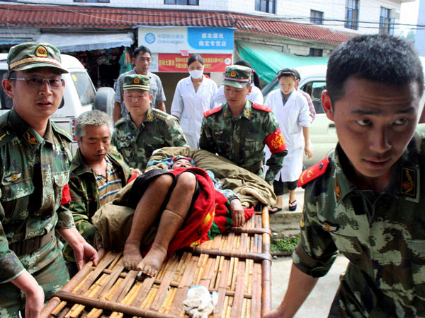 China: Downpour hampers rescue operation