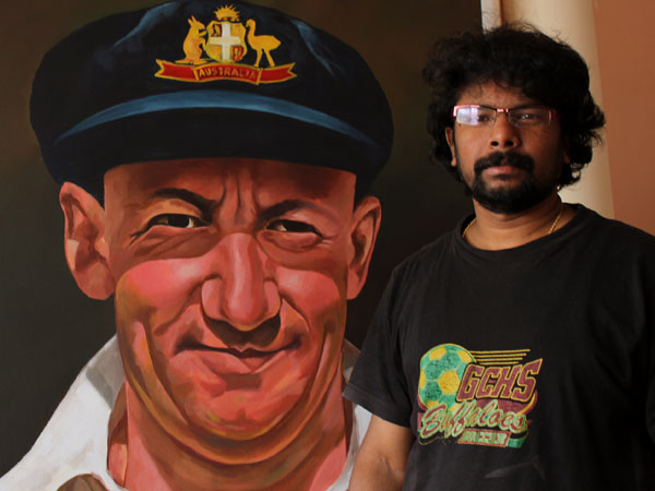 Melbourne: Malayali artist to narrate Australia's history through paintings