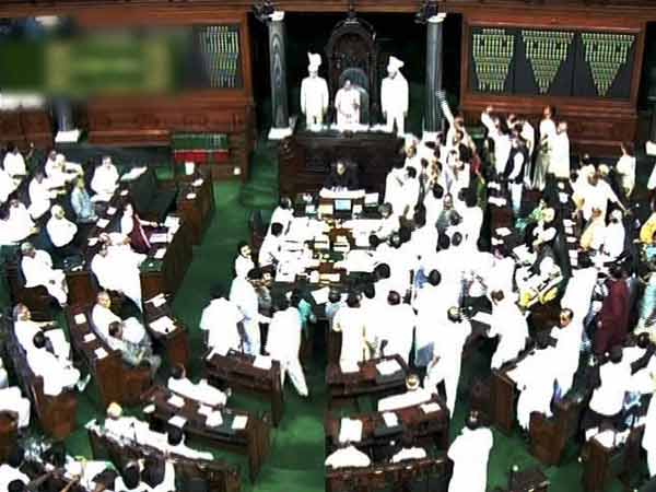 Lok Sabha was adjourned till 2 p.m.