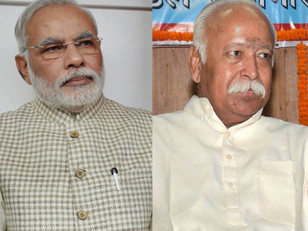 RSS challenge for PM Modi