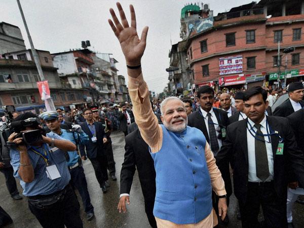 Modi in Nepal