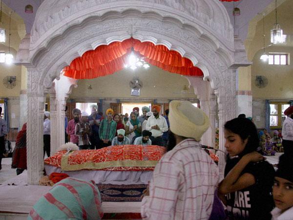 Sikh shrine