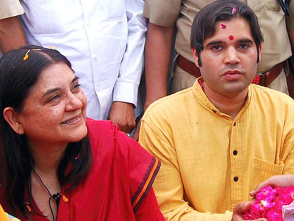 Maneka bats for Varun as UP CM