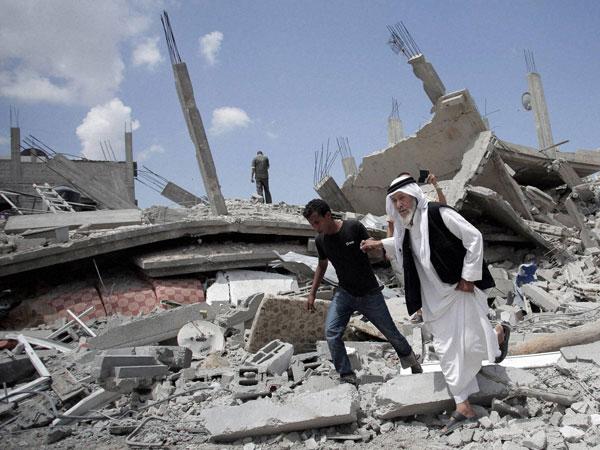 Humanitarian truce begins in Gaza