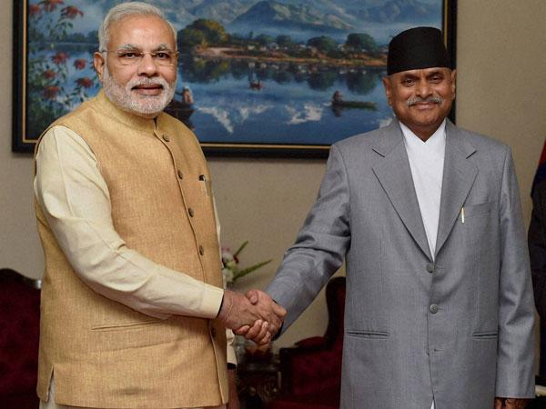 Narendra Modi meets Nepal President