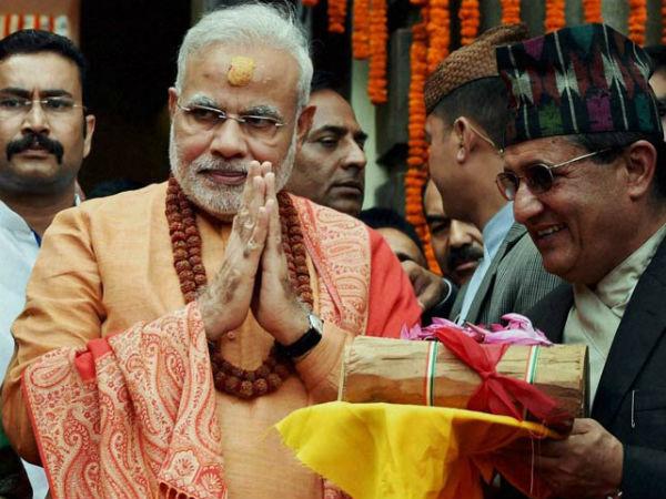 Prime Minister Narendra Modi in Nepal.