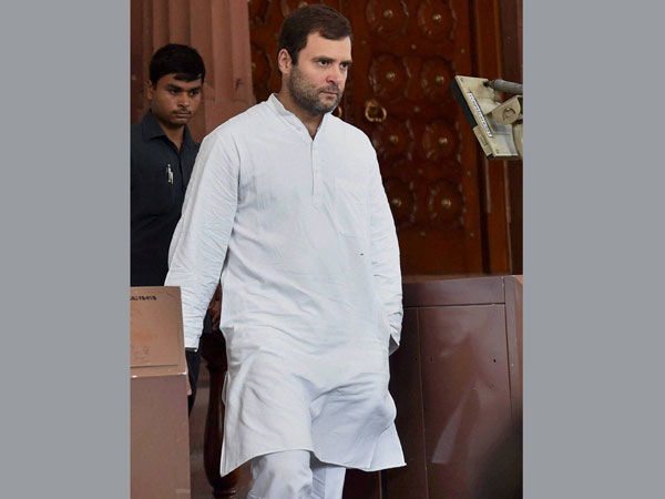 Rahul Gandhi seeks debate on riots