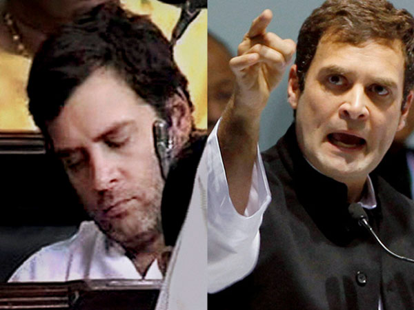 Rahul Gandhi's wake-up game