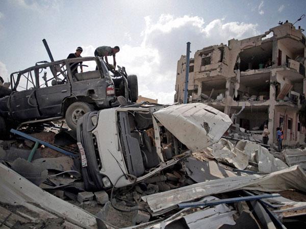 US back Egypt's truce efforts over Gaza