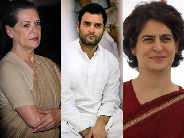 Congress wants all three Gandhi family members to take