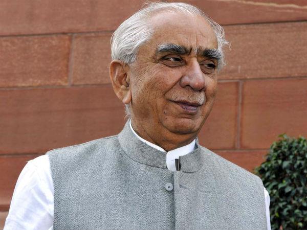 Former BJP leader Jaswant Singh
