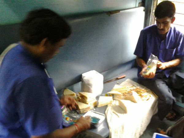 Caters at railways