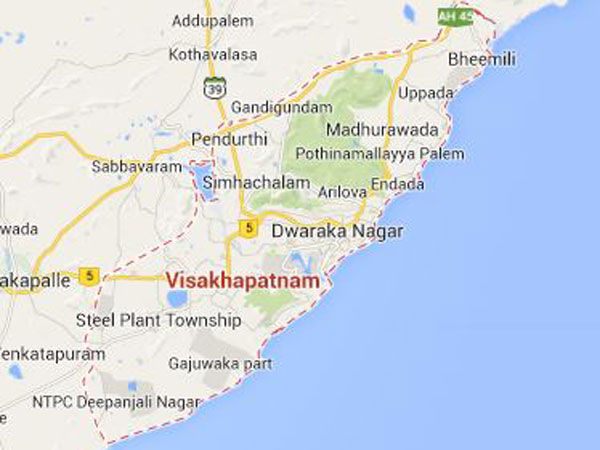 Vizag will be developed on par with Hyderabad: Naidu