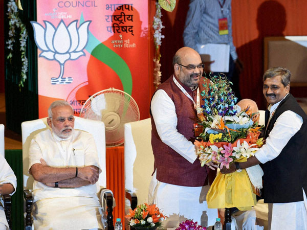 Formal appointment of Amit Shah as Prez