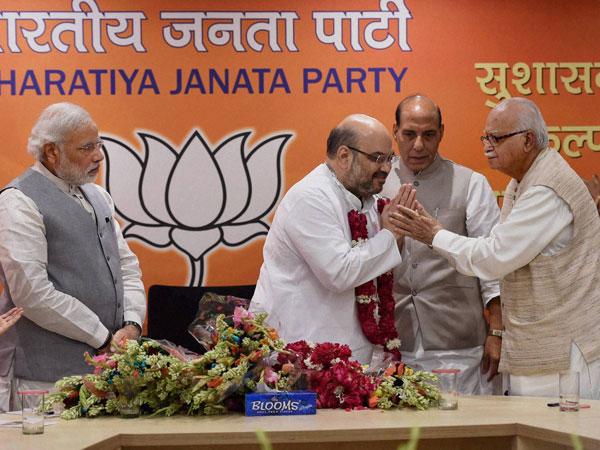 BJP national council meet begins