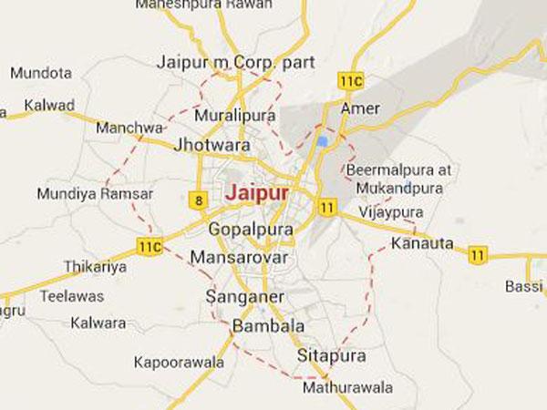 Jaipur hit by heavy rains