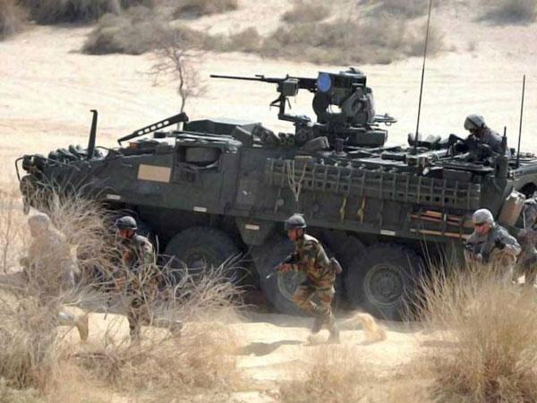 Iraq: US military strikes targets