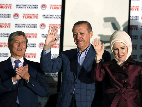 Erdogan wins Turkey's first direct presidential election