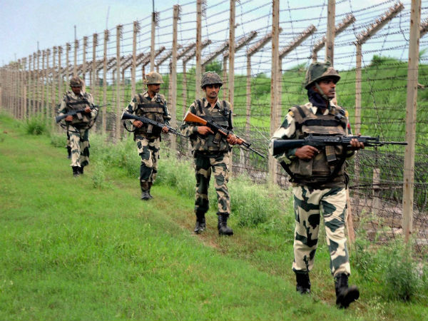 Jawans at border
