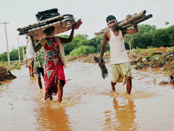 Floods claim 45 lives in Odisha, 4.8 L people affected
