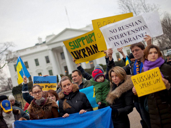US told about humanitarian aid delivery in Ukraine
