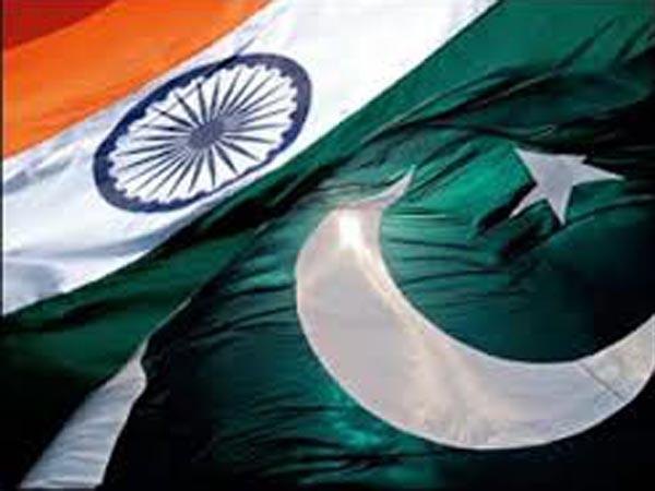India, Pakistan flag