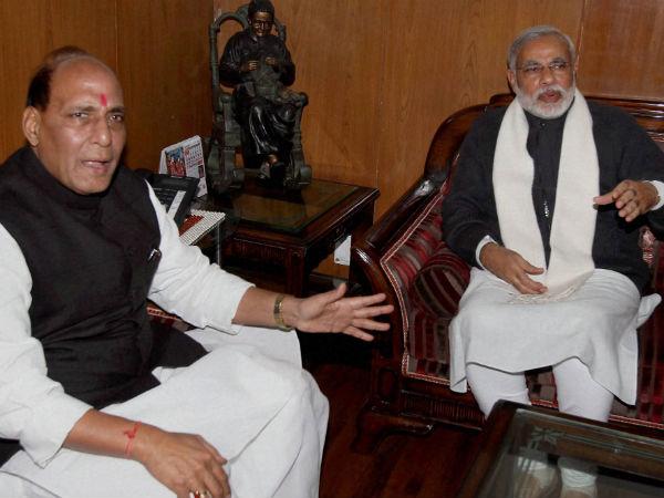 Rajnath Singh's role reduced by Modi